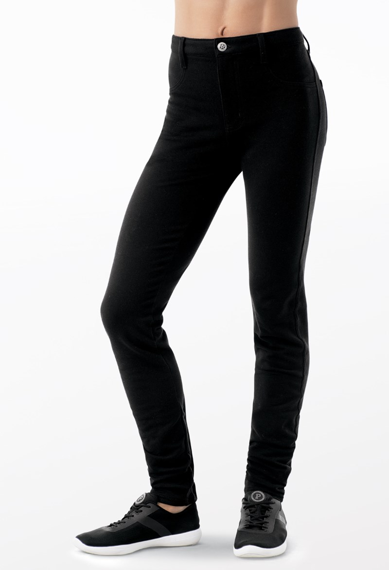 Balera Mid Rise Bold Color Jeggings