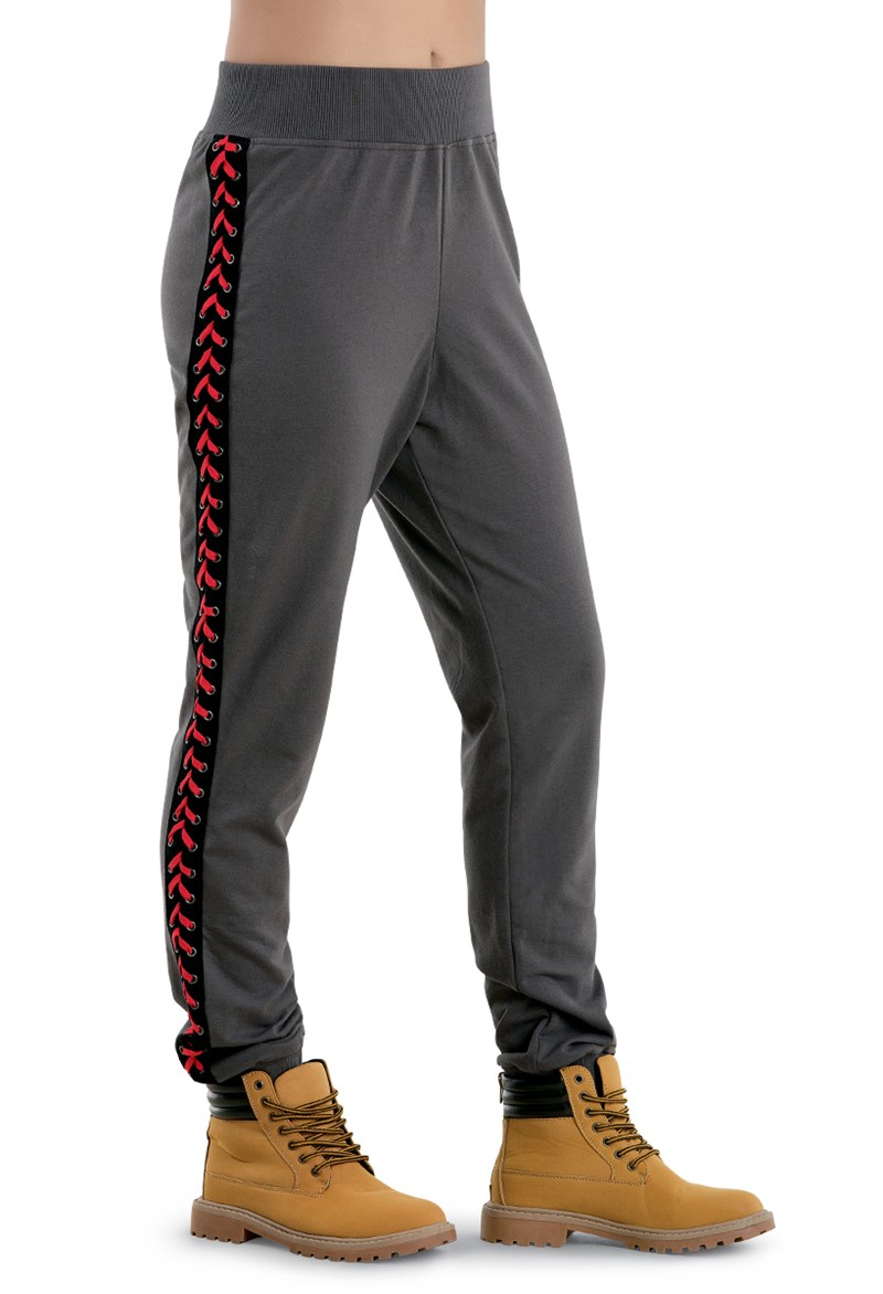 Balera Joggers With Lace Up Sides