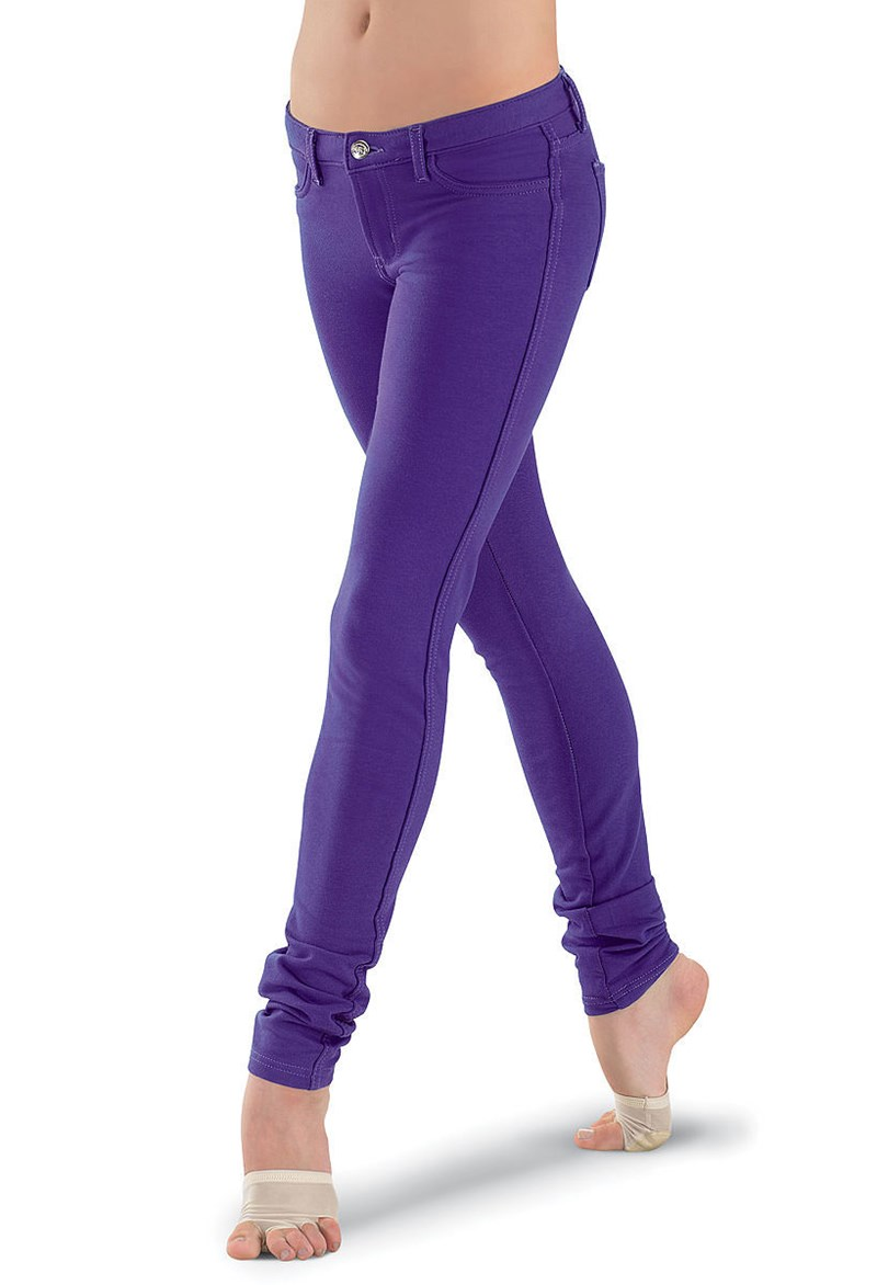 Bold Color Jeggings