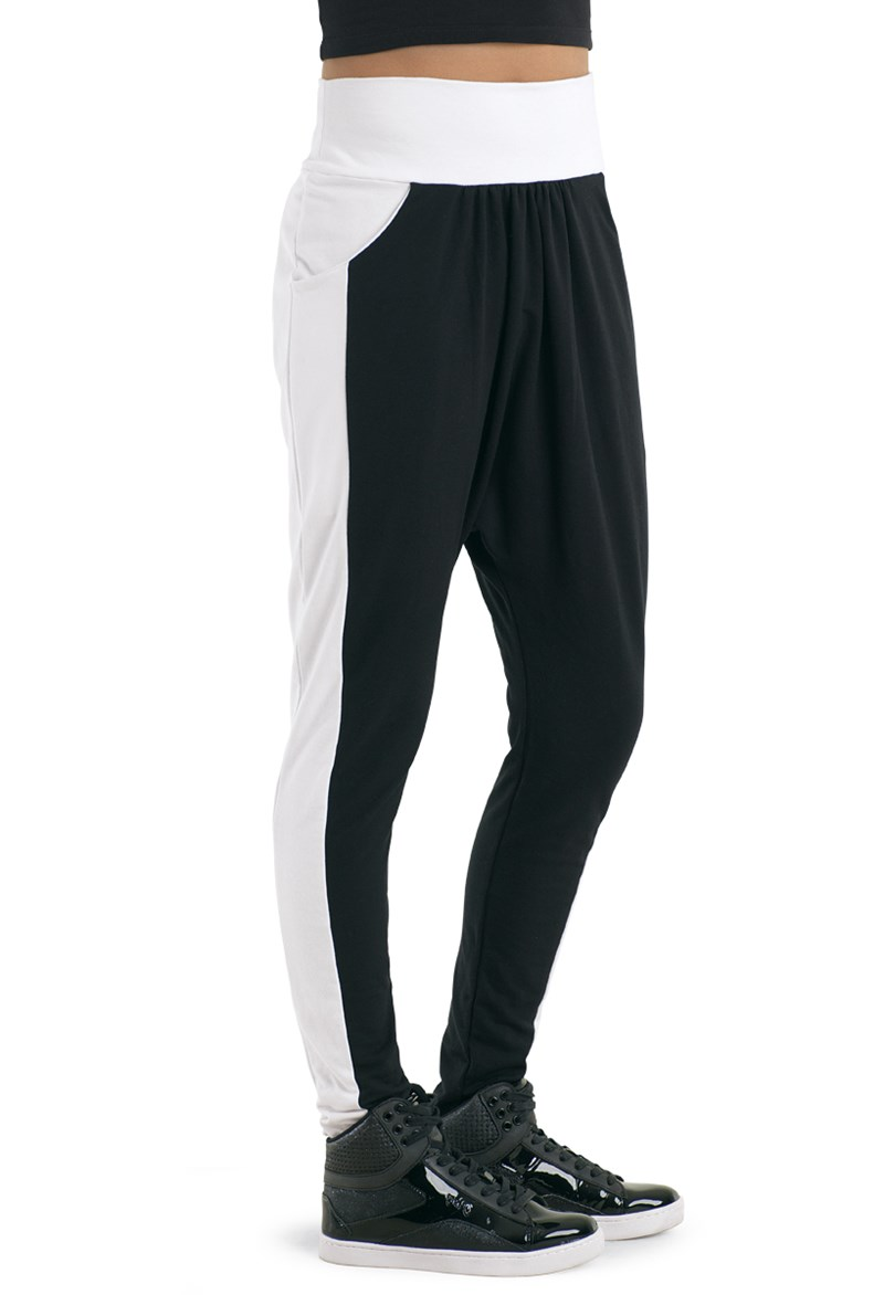 Urban Groove Color-Block Harem Pants