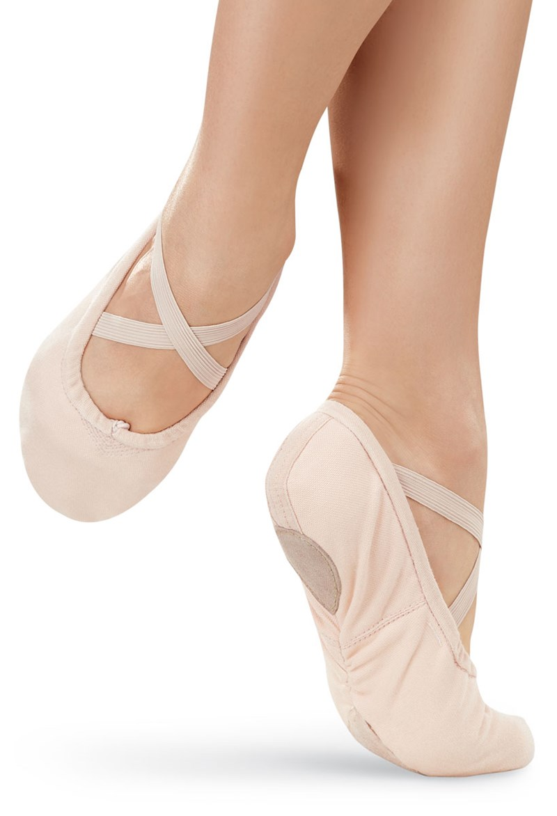 Balera Canvas Split-Sole Ballet Shoe