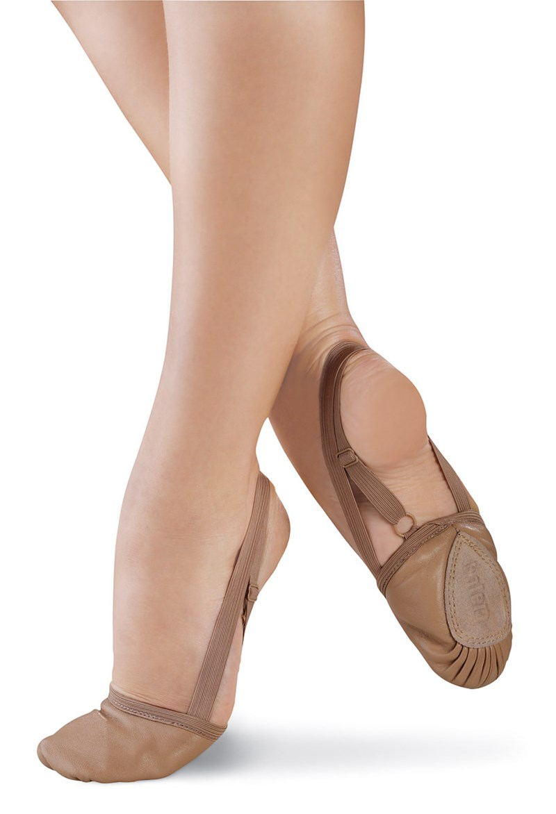 Kids Tanned Jazz Shoes