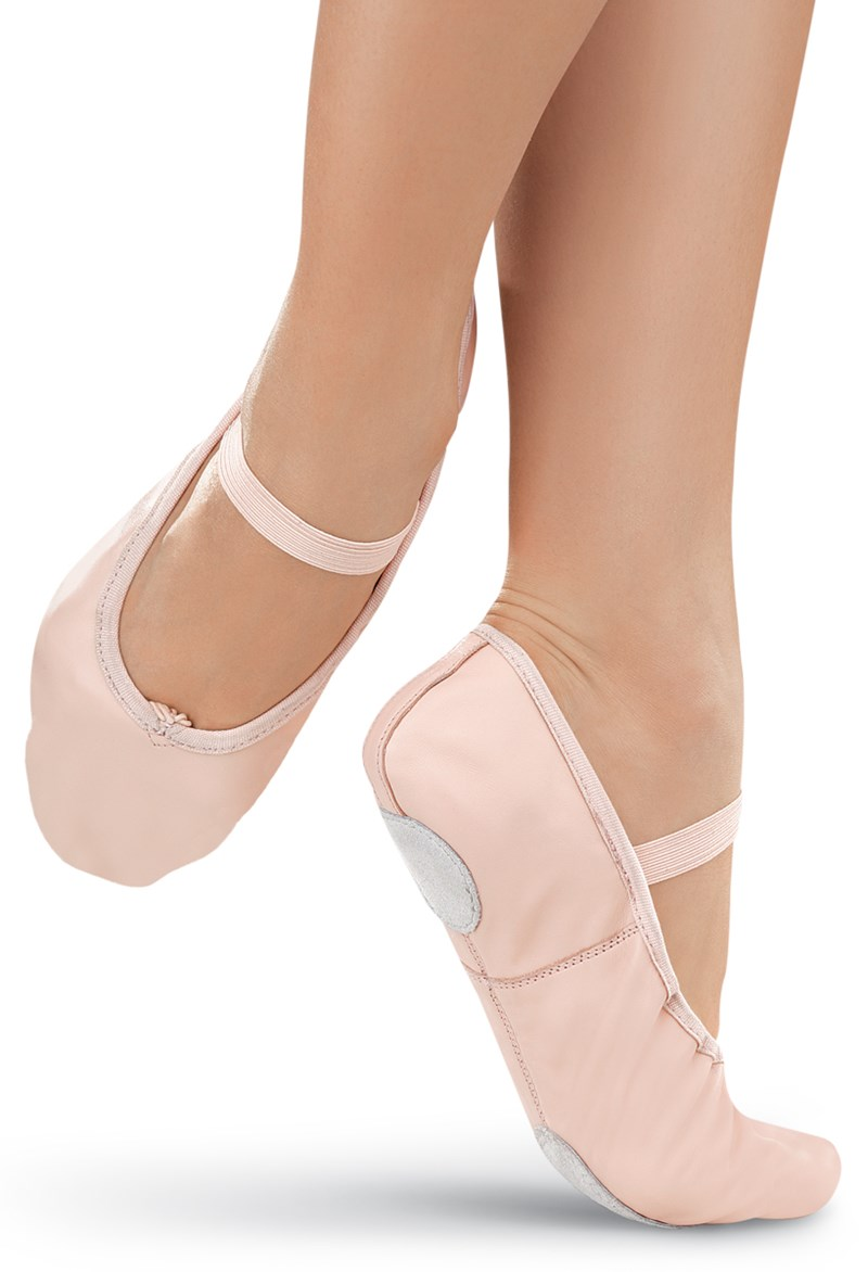 Balera Leather Split-Sole Ballet Shoe