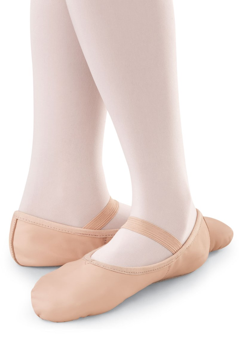 Balera Leather Full-Sole Ballet Shoe