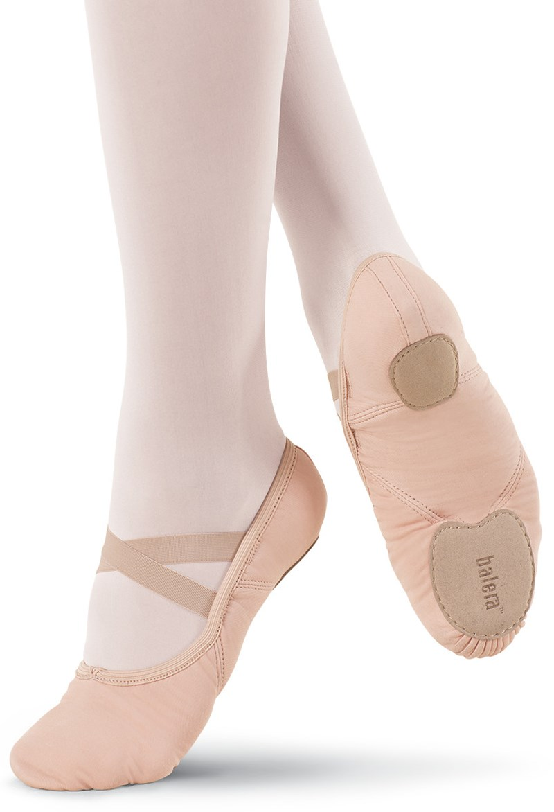 Balera Stretch Canvas Ballet Shoe