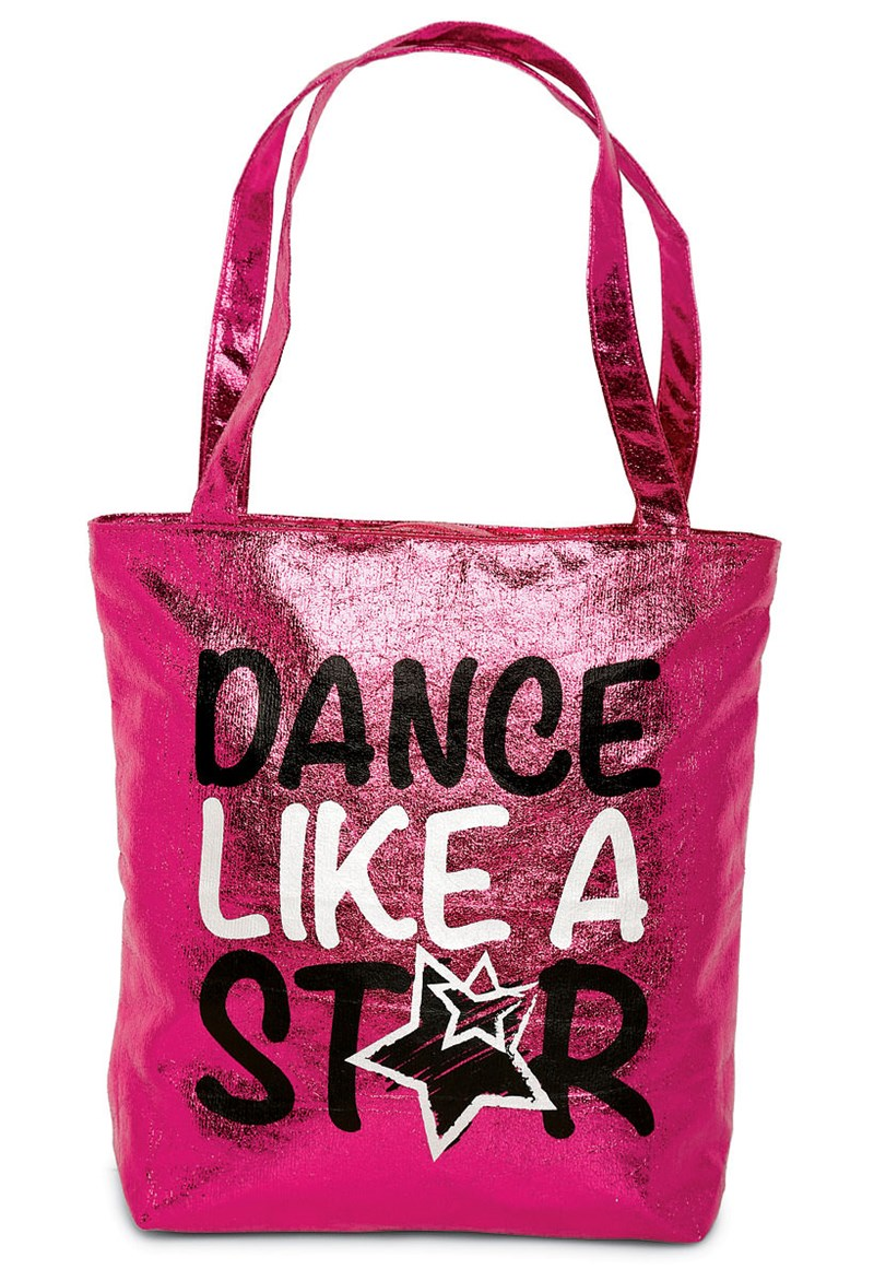 Balera Metallic Dance Like A Star Tote Bag
