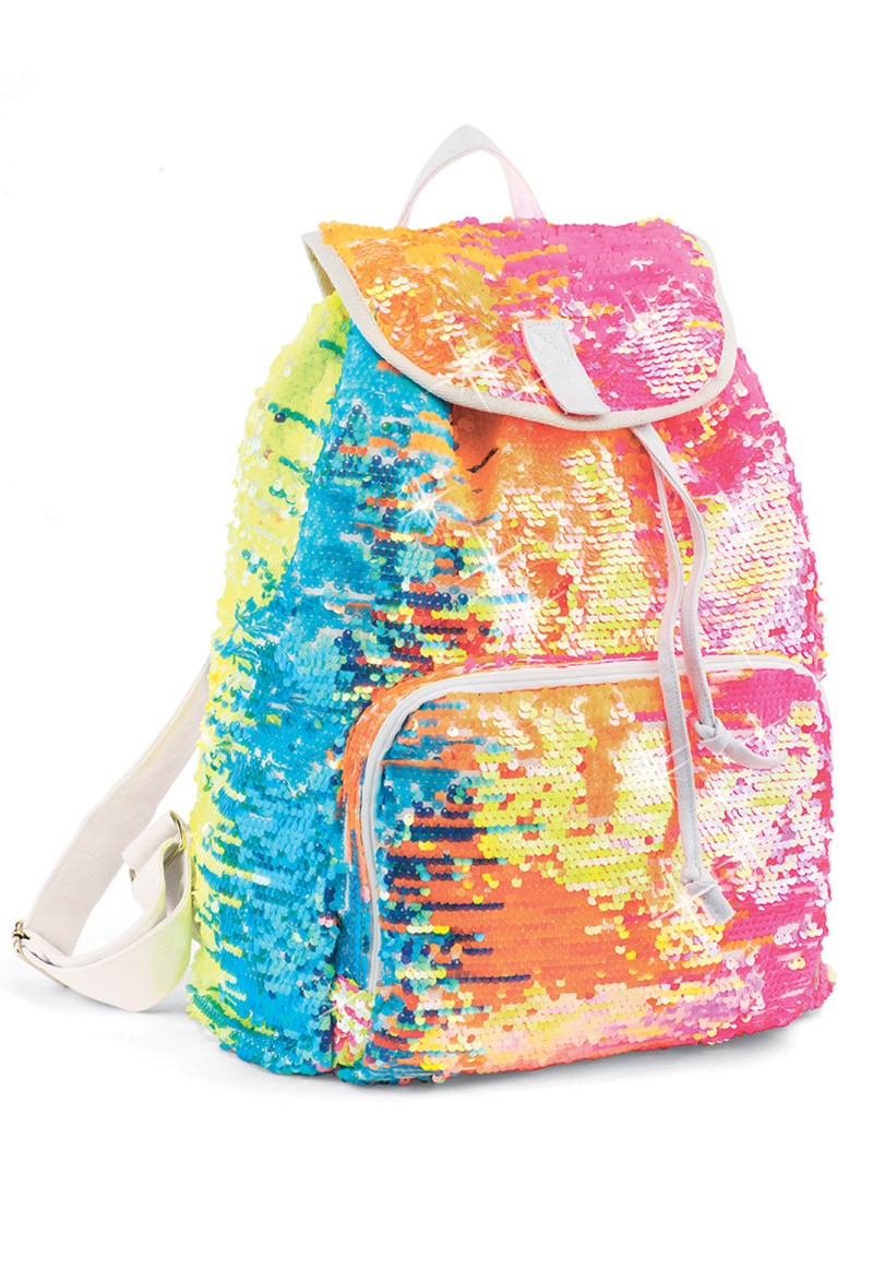 Balera Rainbow Sequin Backpack