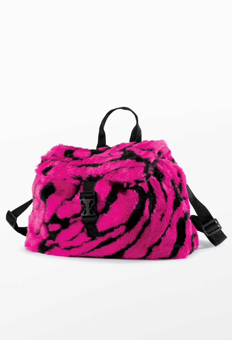Balera Faux Tiger Fur Backpack