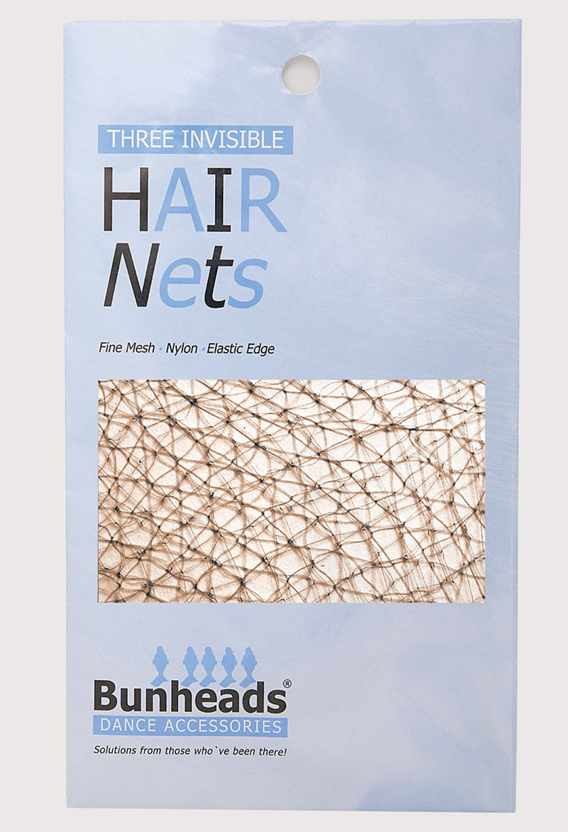 Bunheads Hair Nets - Lt. Brown