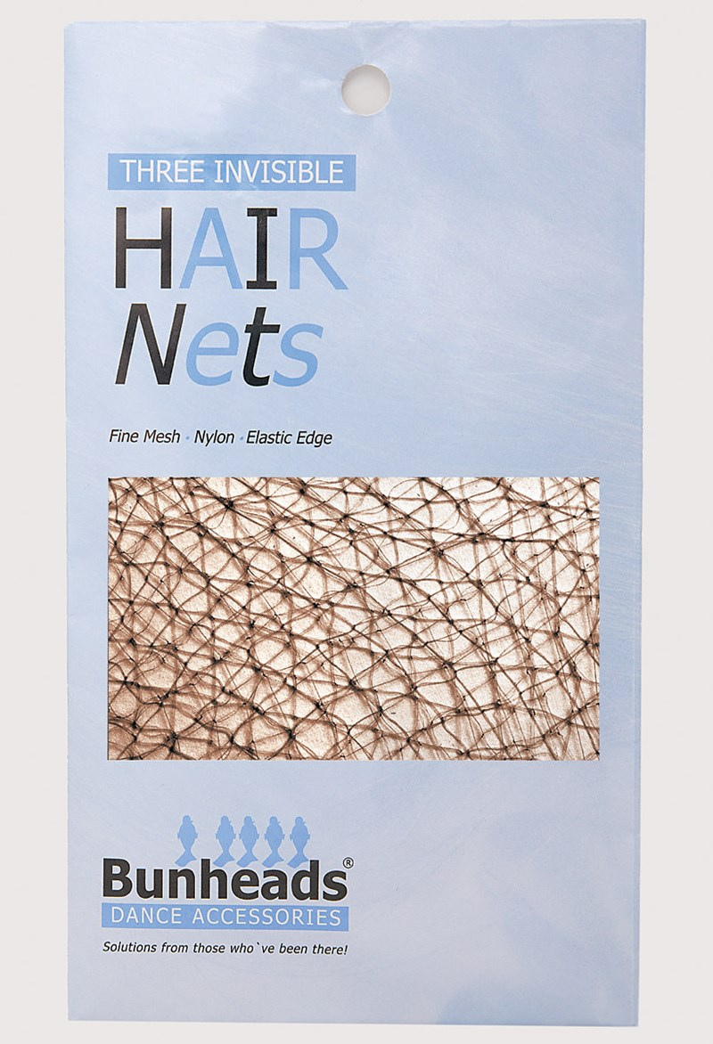 Bunheads Hair Nets - Md. Brown