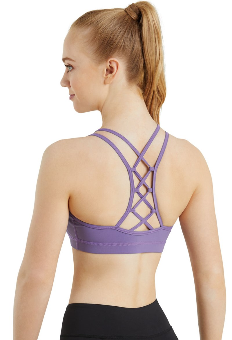 FlexTek Lattice Back Bra Top