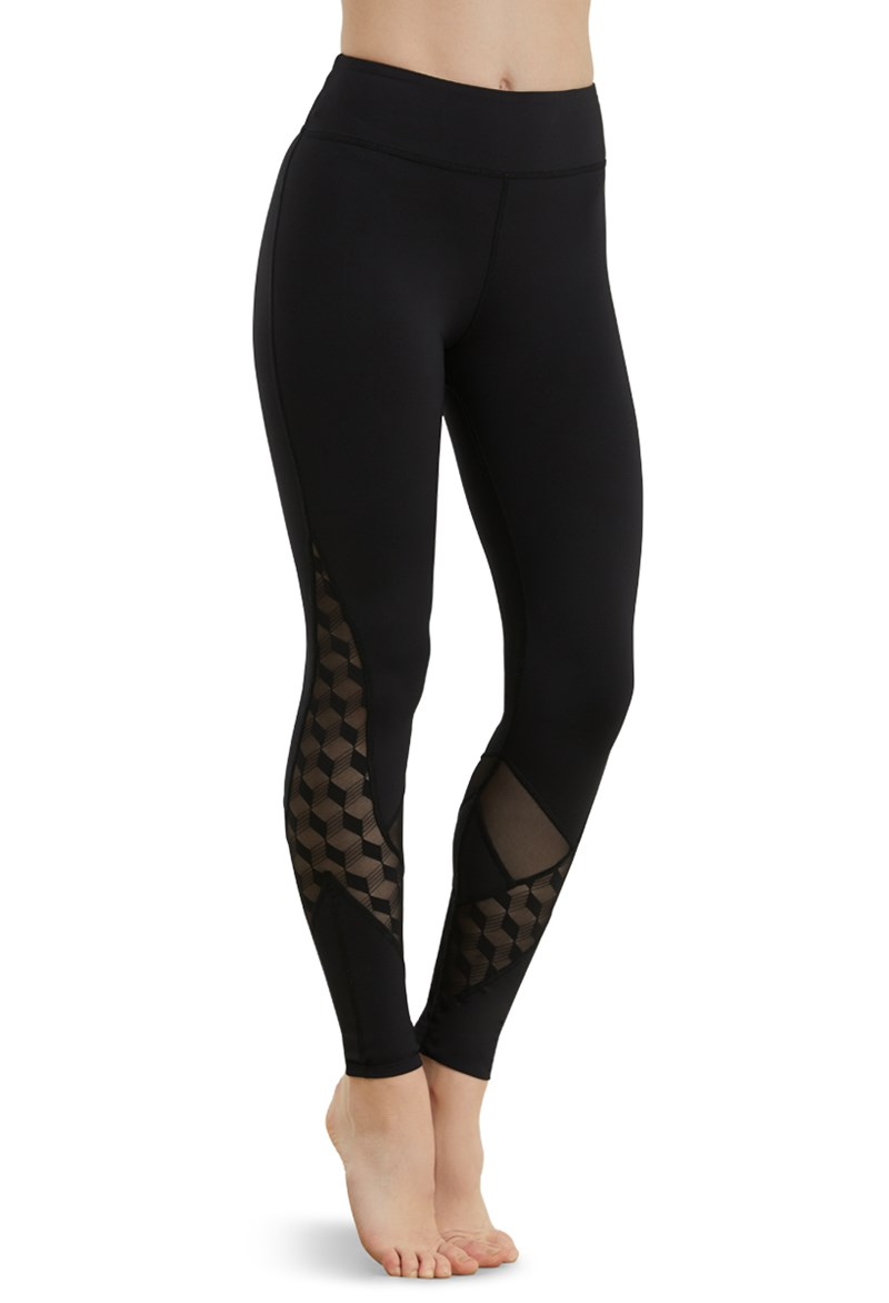 FlexTek Leggings With Lace