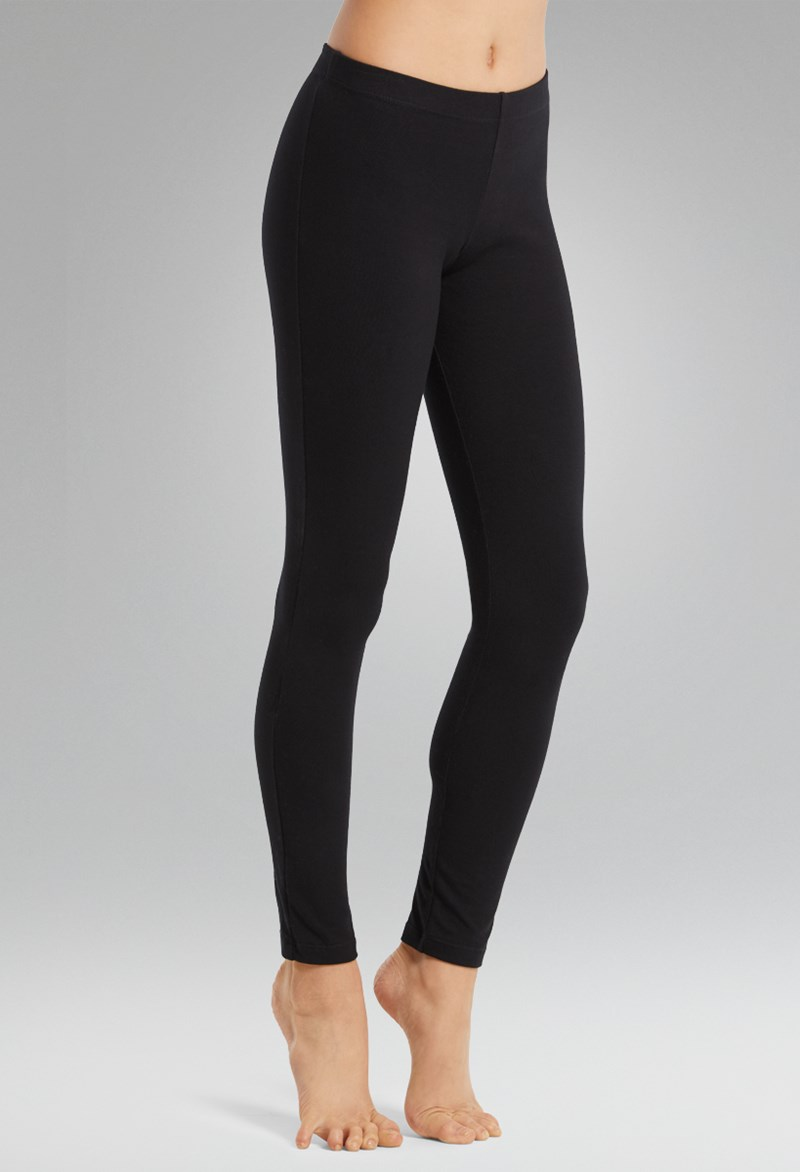 Cotton Ankle-Length Leggings