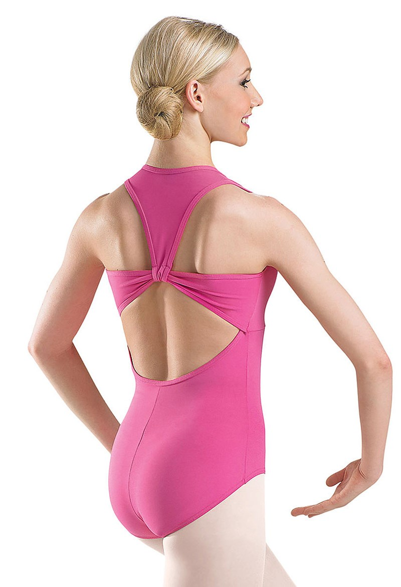 Cotton Open Back Leotard