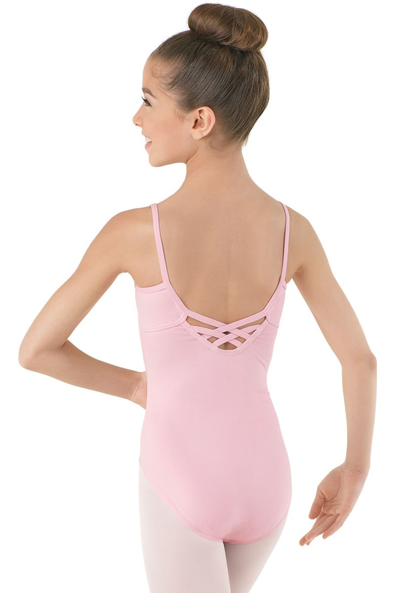 Cotton Crisscross Back Leotard
