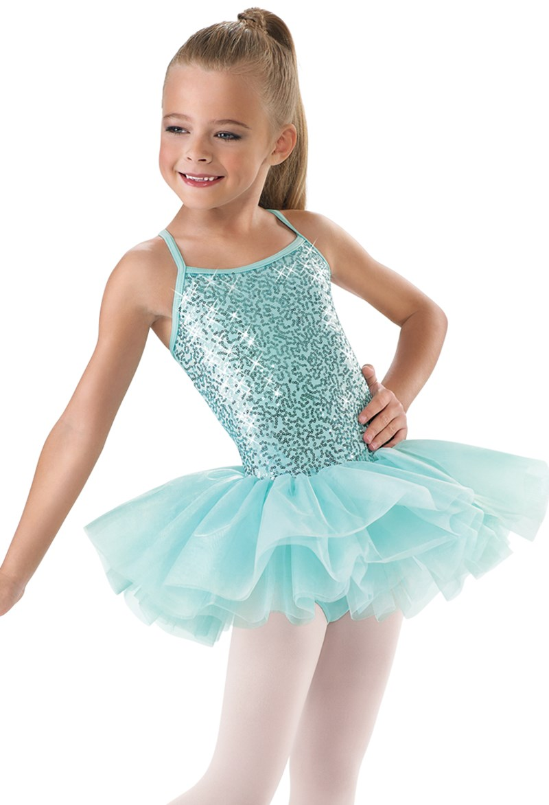 Little Stars Sequin Camisole Tutu Dress