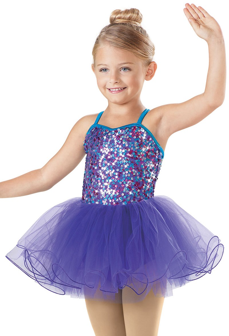 Little Stars Confetti Sequin Tutu Dress