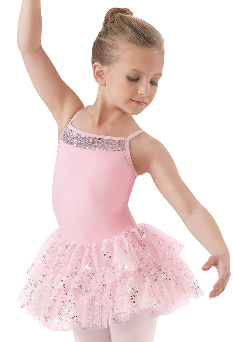 Little Stars Girls' Hologram Tutu Dress
