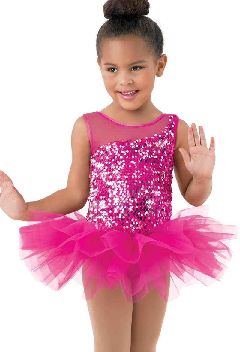 Little Stars Bright Sequin Tutu Dress