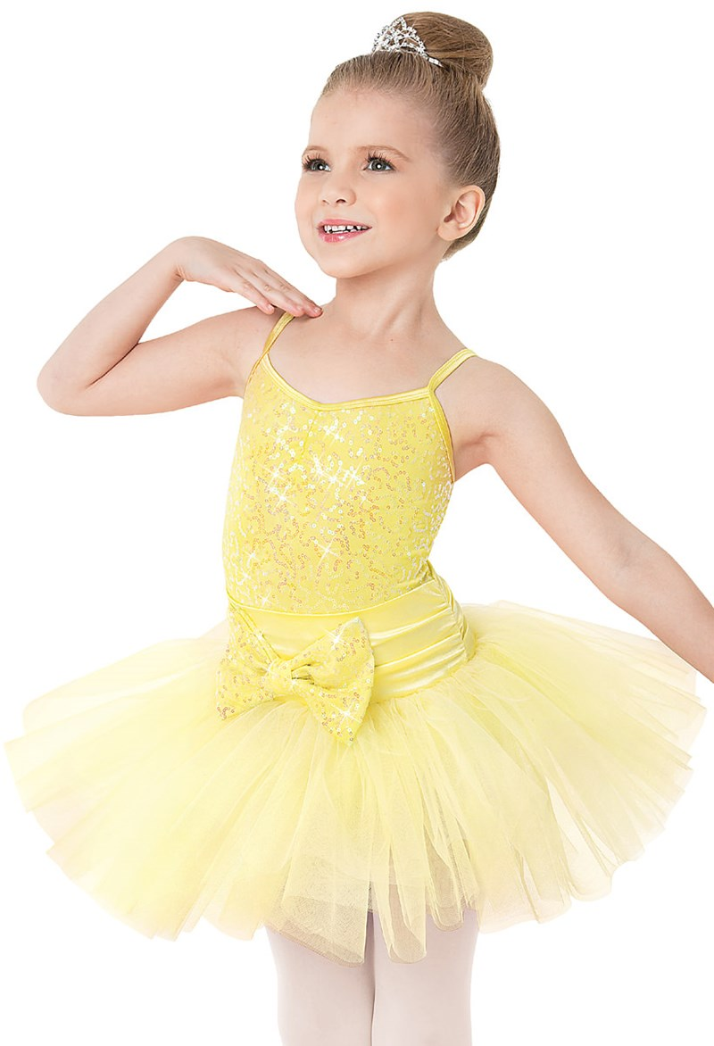 Balera Sequin Bow Tutu Dress