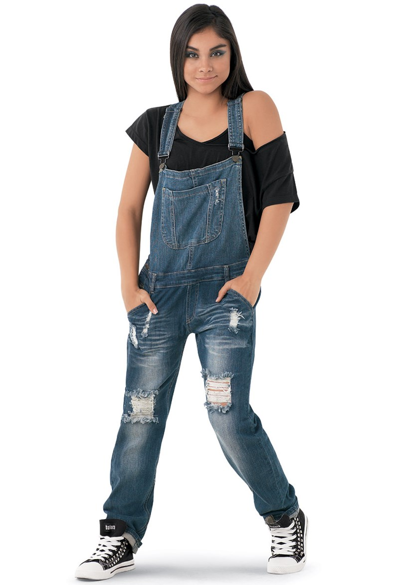 Machine Jeans Denim Overalls