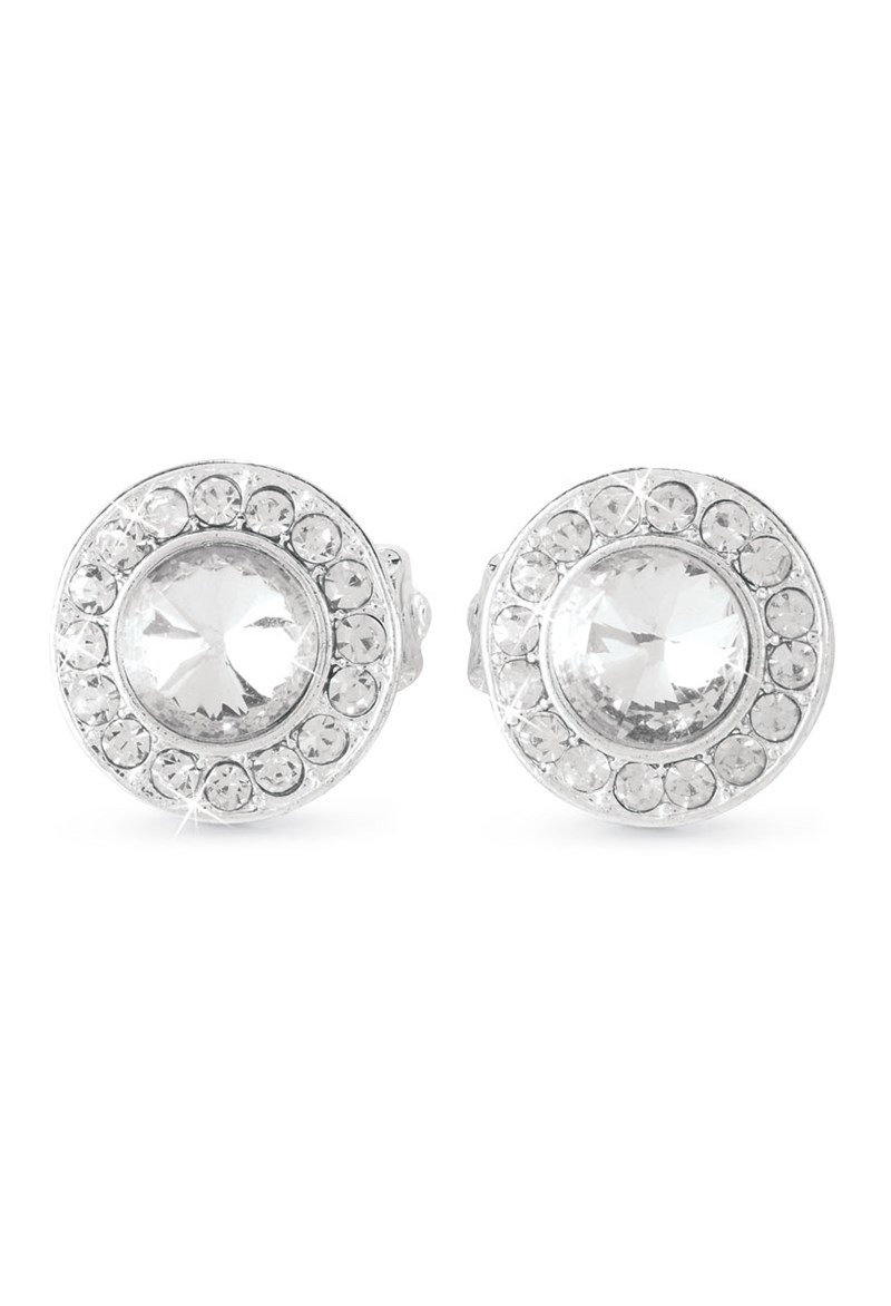 Balera Rhinestone Clip-On Earrings