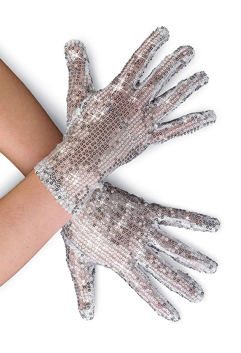 Balera Short Sequin Gloves
