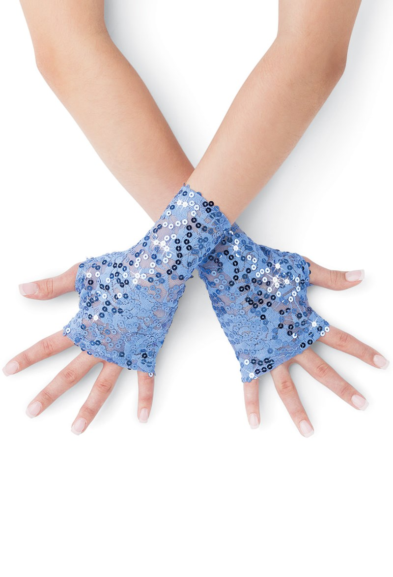 Balera Sequin Lace Fingerless Glove
