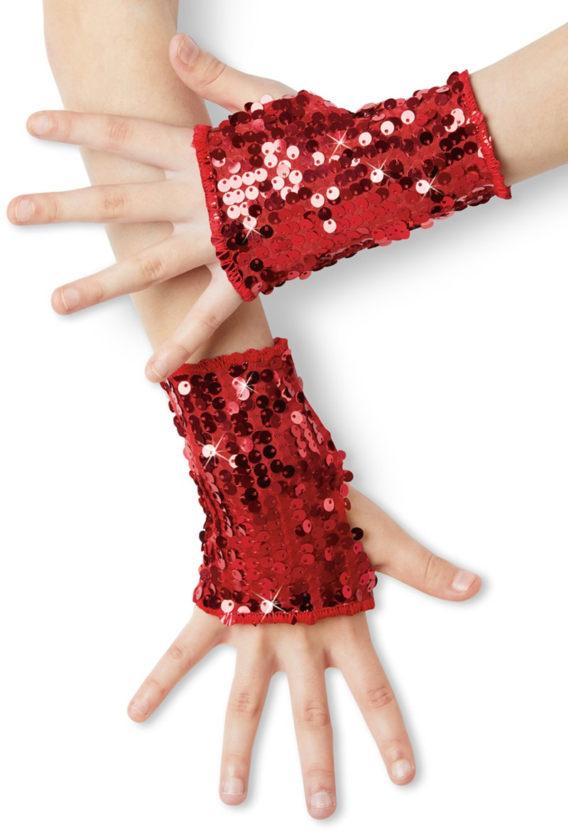 Balera Ultra Sparkle Sequin Mitts