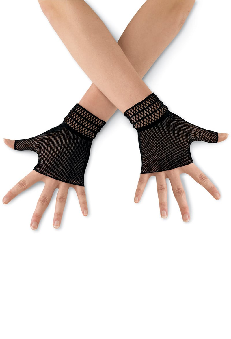 Balera Fishnet Dance Gloves