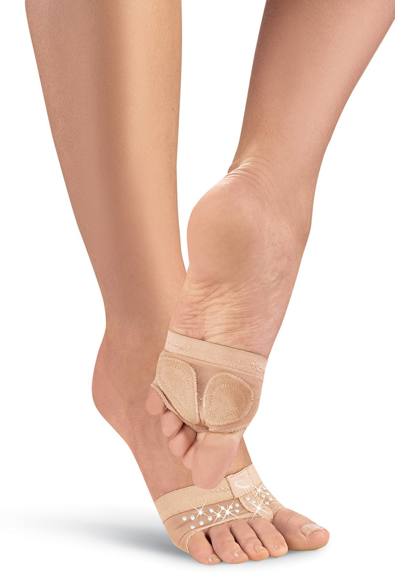 Capezio Crystal Footundeez