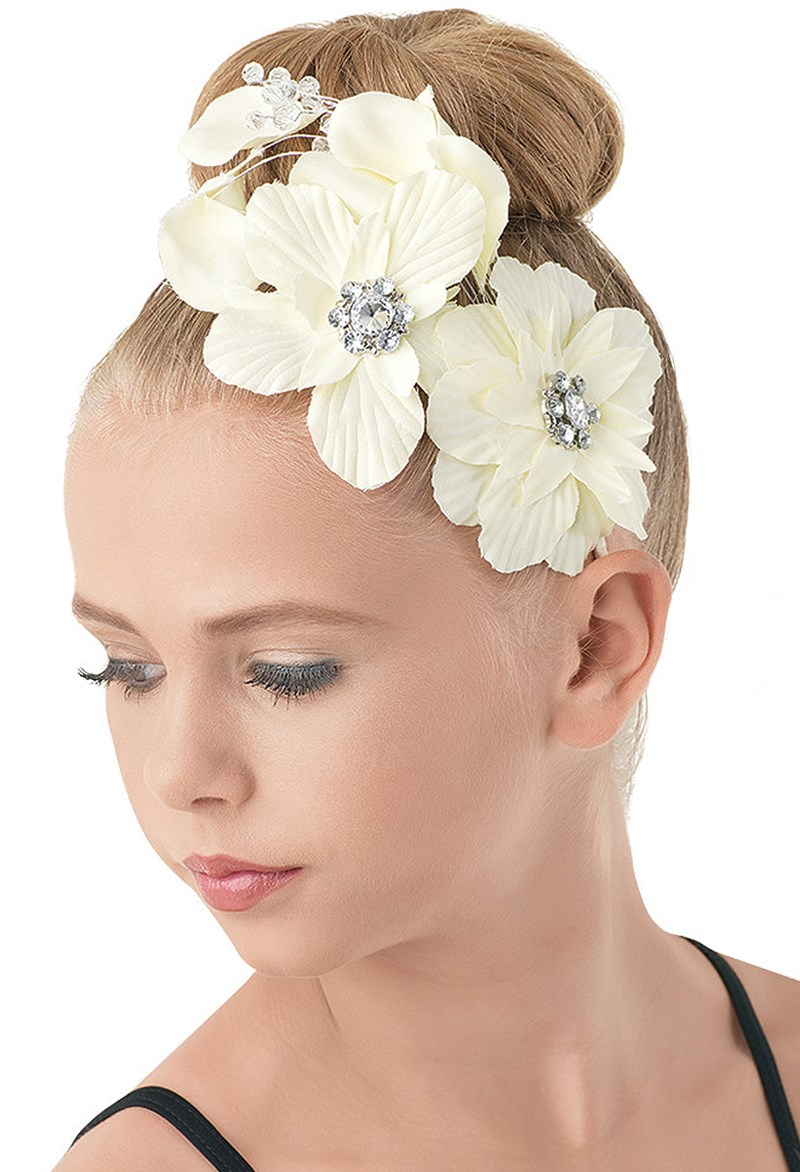 Balera Jeweled Floral Headband