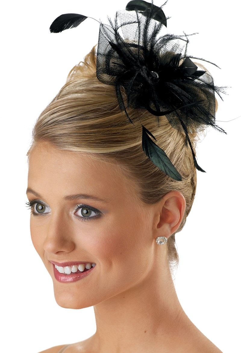Balera Tulle Feather Hair Pouf