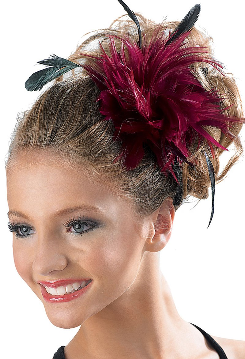 Balera Feather Pouf Hair Clip