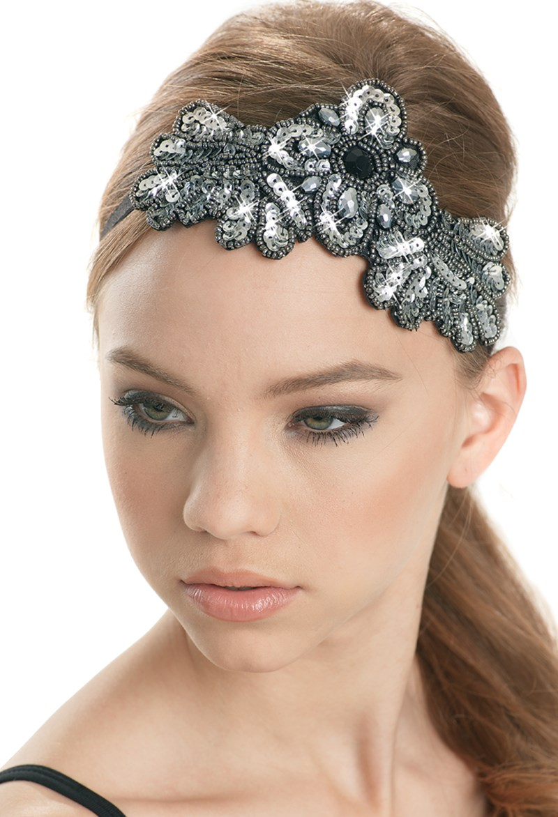 Balera Applique Elastic Headband
