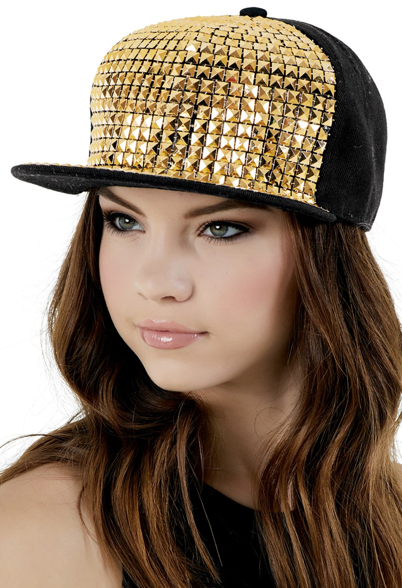 Balera Studded Flat Bill Hat