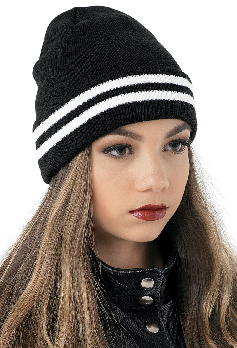 Balera Striped Knit Beanie