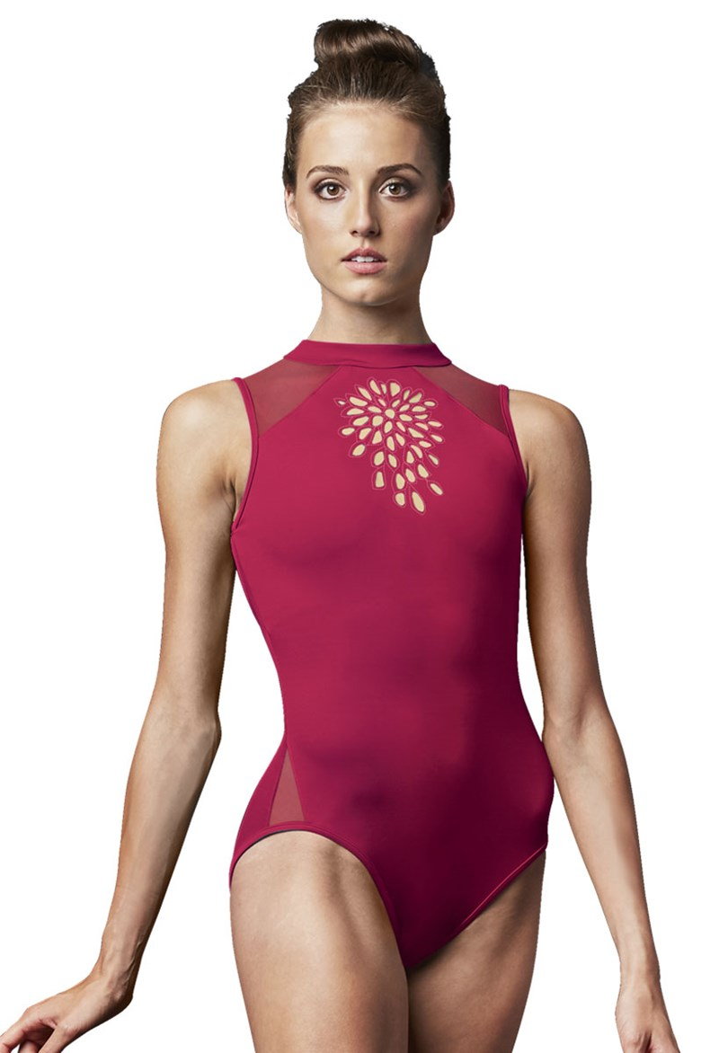 Jozette High Neck Leotard