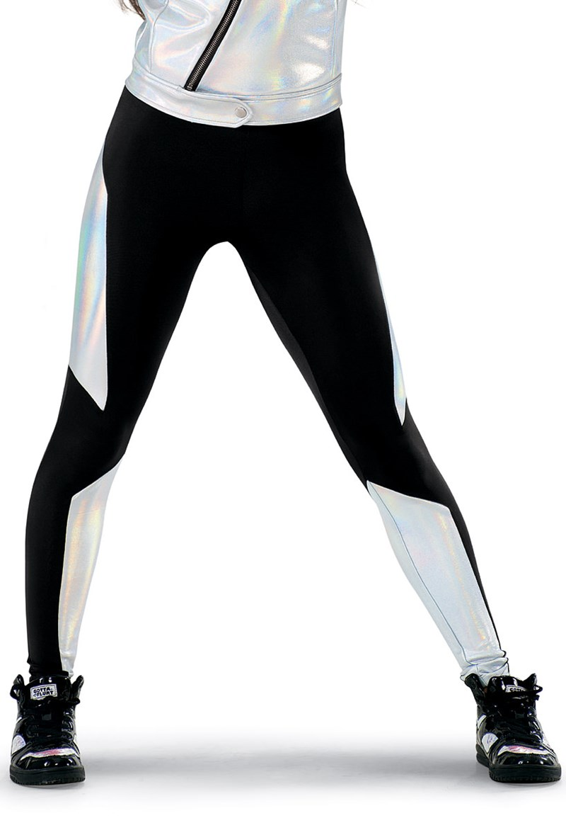 Urban Groove Hologram Inset Leggings