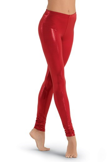 Balera Ankle-Length Metallic Leggings