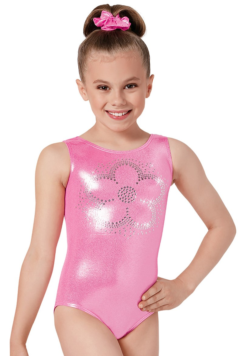 Sequin Flower Gym Leotard