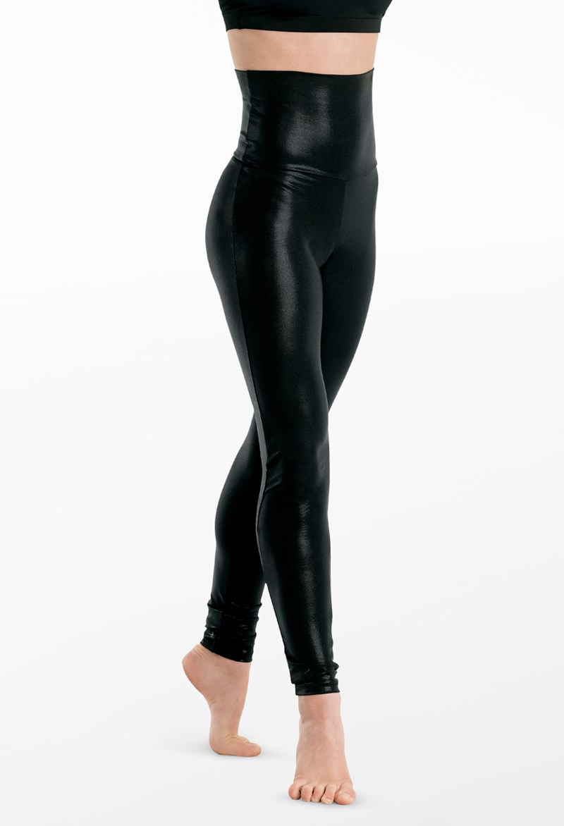 Balera High Waist Metallic Leggings