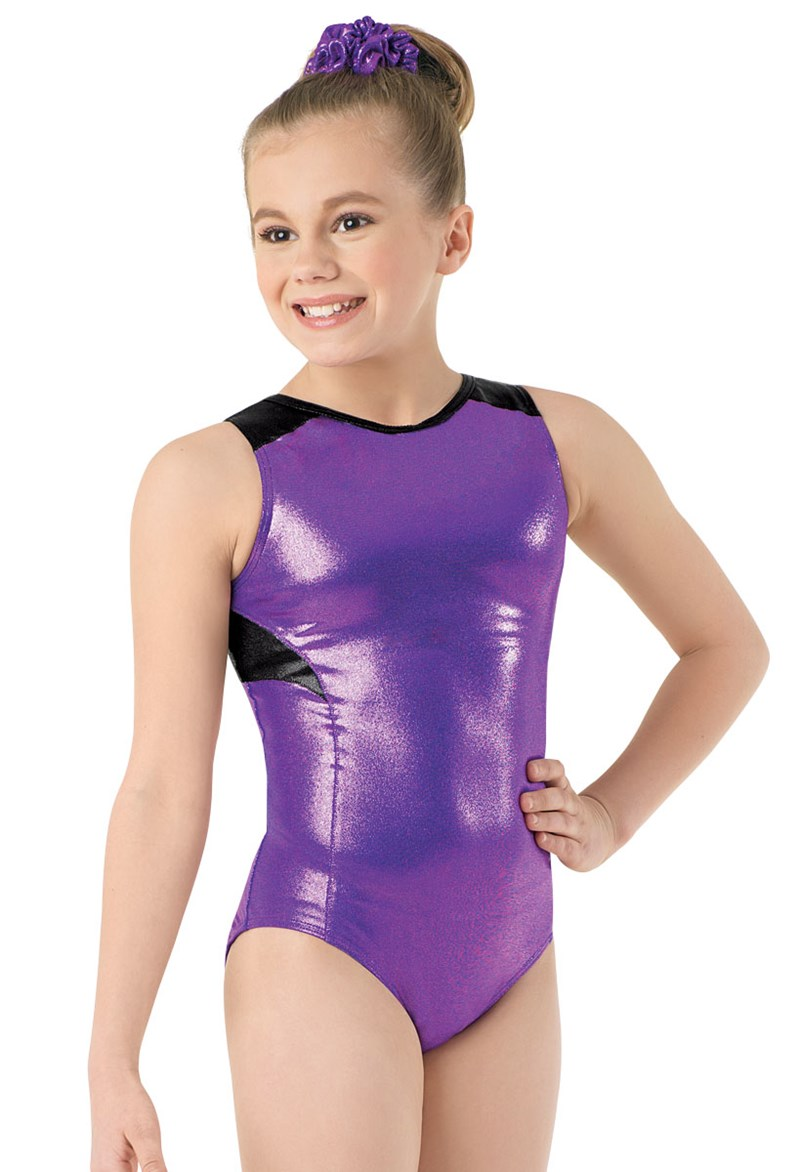 Metallic Racerback Leotard
