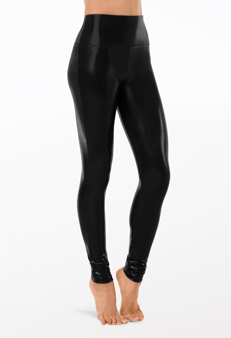 Natural Rise Metallic Leggings