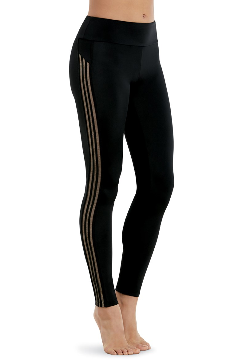Balera Shadow Stripe Leggings