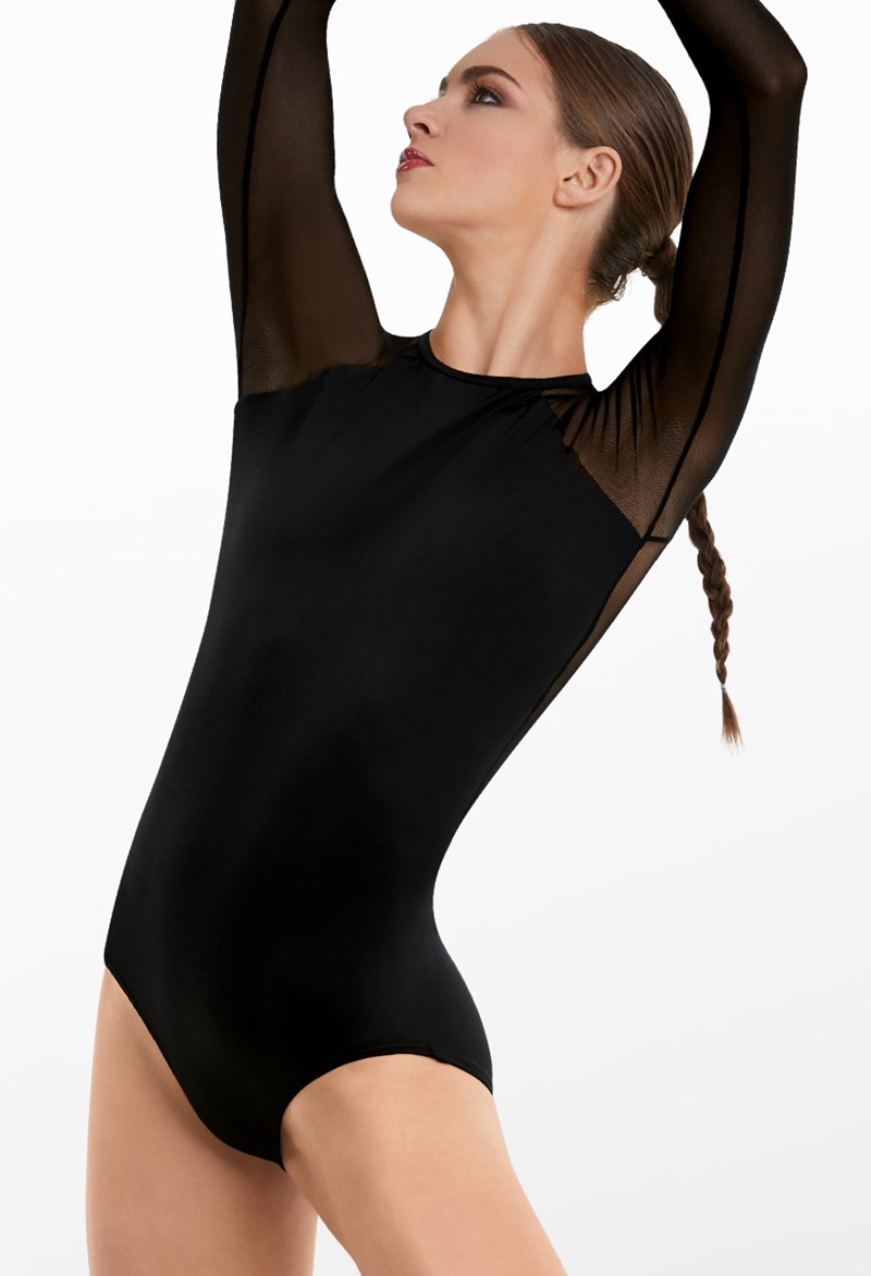 Raglan Long Sleeve Leotard
