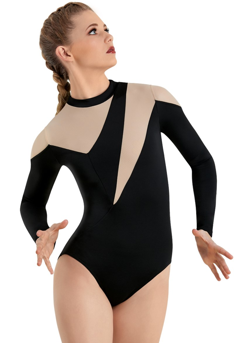 Long Sleeve Angular Leotard