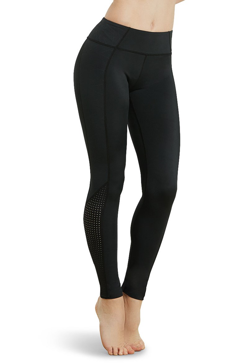Balera Embossed Full Length Leggings