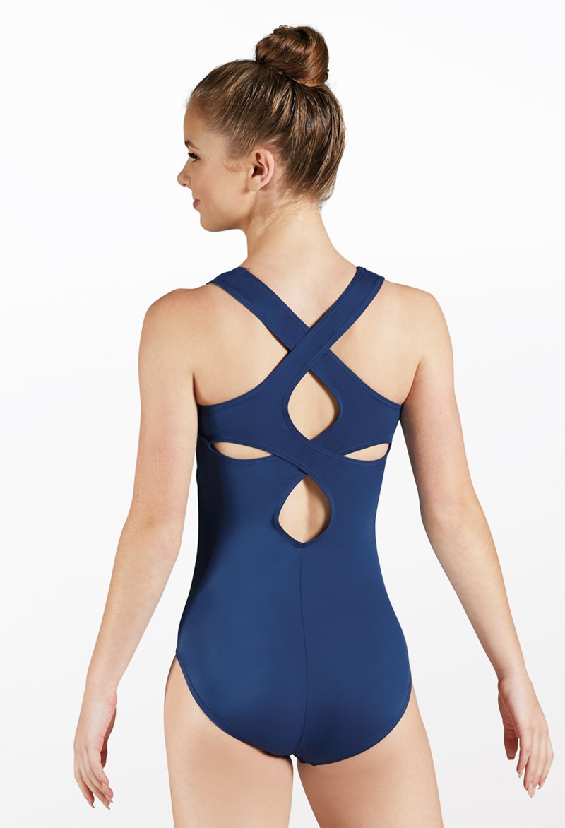 Cutout Back Tank Leotard