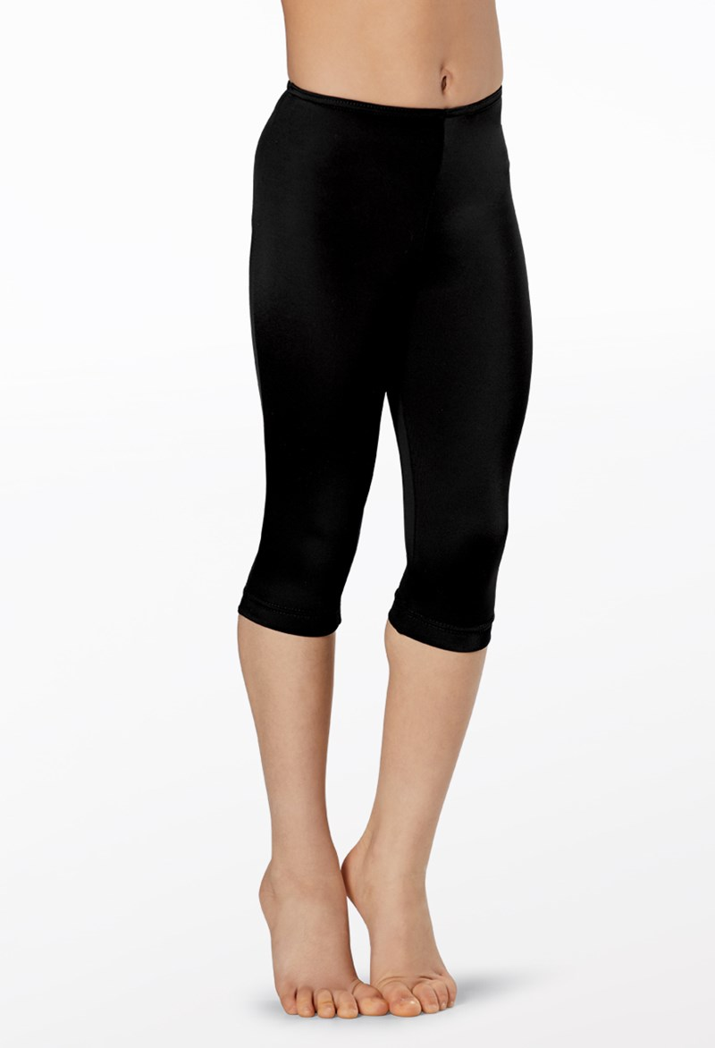 Balera Matte Nylon Capri Leggings